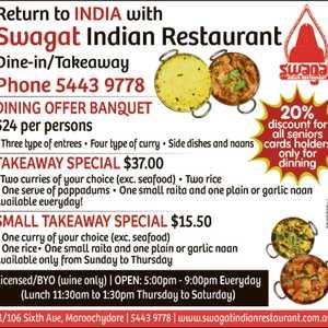 Indian Food Yandina