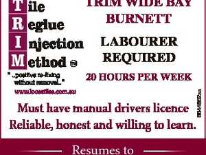 LABOURER REQUIRED
