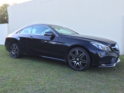 MERCEDES BENZ E400 Coupe, 2014 with AMG Sports Package, 1 lady owner, sunroof, 360 degree camera,...