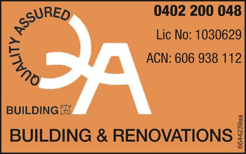 ACN: 606 938 112  Lic No: 1030629  BUILDING & RENOVATIONS    0402 200 048 ...