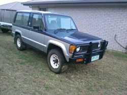 JACKAROO In good order, rego, 8-seater, 1984, mod b/bar, t/bar, engine turbo low kms since overha...