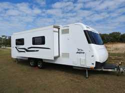 2015 Jayco Silverline Caravan, twin axle, Double slide out. 25.78ft Satellite Dish, tare 2931 gvm...