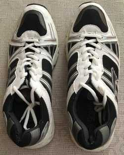 as new, Black & White, Size 10, only