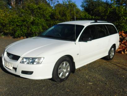 12/2006 Holden Commodore Wagon    Log Books  AC  PS  R/Racks  Cargo Ba...