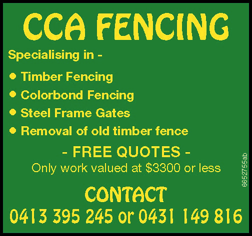 Specialising in -
