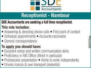 Receptionist - Nambour