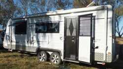"2012 Golden Eagle 19'6"" Eureka, new R/O awn with end walls, gen slide, 150W solar, dua..."