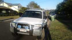 """Turbo diesel, auto, 229 000km, 7 seater, 2""""lift kit, RWC, 5 months rego, roof racks, good condition."""
