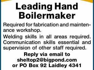 Leading Hand Boilermaker