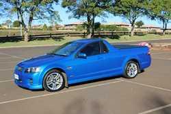 Holden Commodore Ute, Auto SV6, 2009 VE SIDI, Metallic Blue, 184,000ks One owner, RWC, Extras, $1...