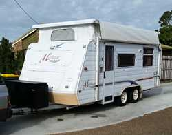 2002 Jayco Heritage PopTop,   Double island bed, gas/elect cooktop with oven, air condi...