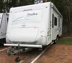 2007 21ft JAYCO Sterling, $29,999, rego 6/18, full ens, A/C, w/mach, fridge/freezer, stove gas /e...