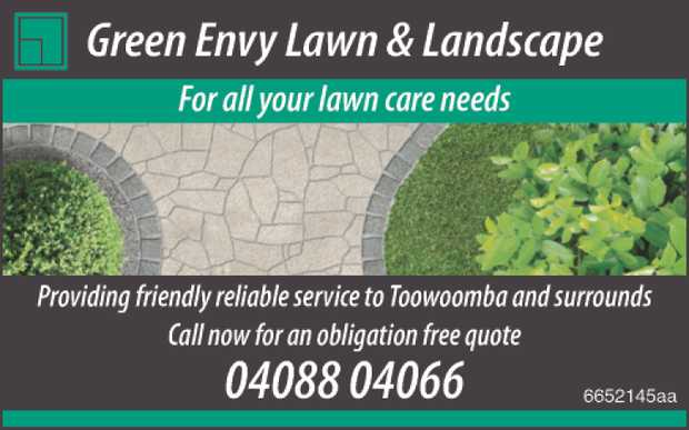For all your lawn care needs.