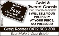 Sellers $ave Thousands on Commission   Gold & Tweed Coasts Free Property Appraisals  ...