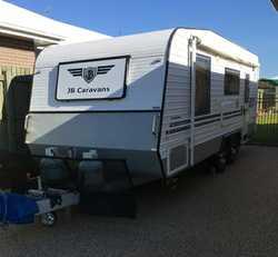 "JB caravan  2014,  20'6"",  large ensuite,  separate shower, ba..."