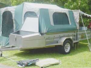 JUGALONG Camper trailer 1997