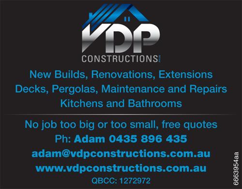 QBCC: 1272972 New Builds Renovations Extensions Decks Pergolas Maintenanc...