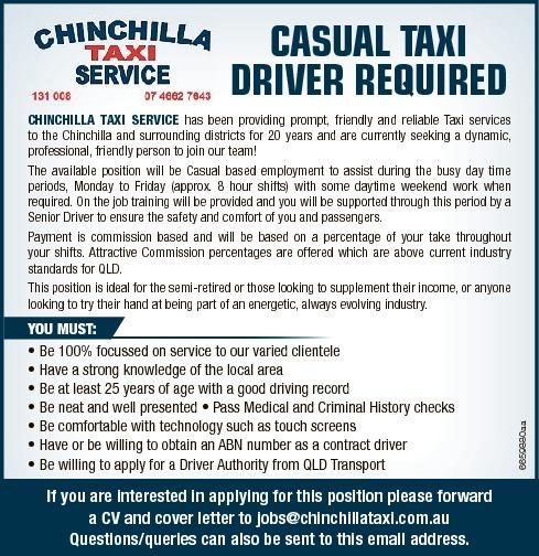 Find A Job | Jobs | Chinchilla News