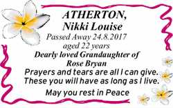 ATHERTON, Nikki Louise