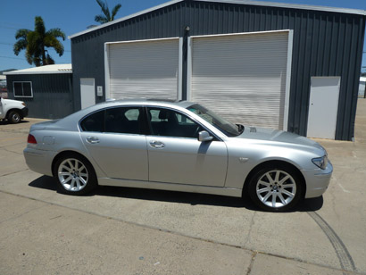 BMW 740i 2008, Executive, 117,000 kms, in excellent cond, RWC, $19,950. Phone 0408884888