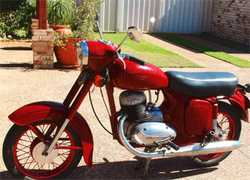 1965 JAWA 250cc, complete, runs great, just serviced, new battery, good tyres. $2,500 ono, ph 042...