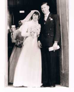 Bruce and Betsy Tucker (nee Lawson) met in Canberra whilst both serving in the RAAF and were married...