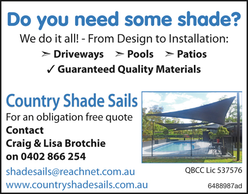 Do you need some shade?
