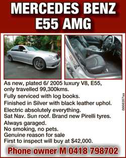 Mercedes Benz E55 AMG