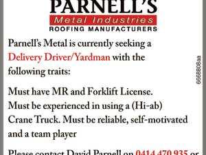 Delivery Driver/Yardman