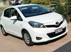 TOYOTA Yaris 2012, 5 door Hatchback, auto, tinted windows, bluetooth, RWC, 50,470kms, service his...