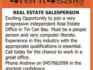 REAL ESTATE SALESPERSON