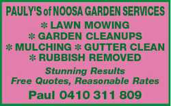 LAWN MOWING GARDEN CLEANUPS MULCHING GUTTER CLEAN RUBBISH REMOVED Stunning Result...