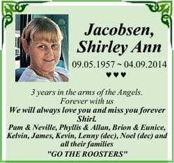 Jacobsen, Shirley Ann