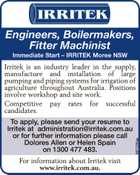 Engineers, Boilermakers, Fitter Machinist Immediate Start
