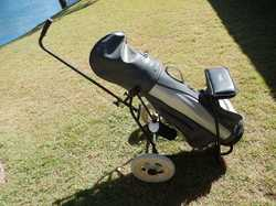 Full set  complete with carry bag ,  trolley and accessories,