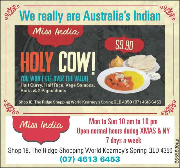 We really are Australia's Indian