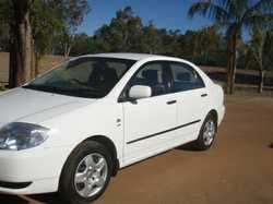 2003 Toyota Corolla. 1 owner Power  steering , air conditioned, new tyres, 12 months Rego. 7...