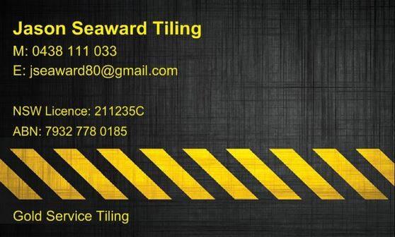 Jason Seaward Tilling M: 0438 111 033 E: jseaward80@gmail.com NSW Licence : 211235C ABN 7...