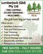 Lumberjack QLD Pty Ltd