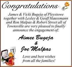 James & Vicki Bugeja of Pleystowe together with Lesley & Geoff Haussmann and Ron Malpas &...