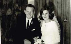 Happy 50th Wedding Anniversary to Mum and Dad, Love from Warren, Chris, Jason, Connor, Tania and Mic...