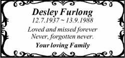 Desley Furlong