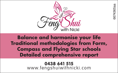 FENG SHUI WITH NICKI