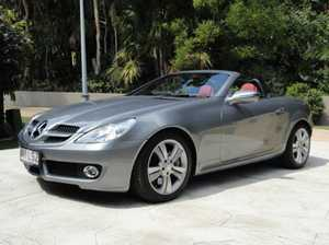 2008 MERCEDES-BENZ SLK350, MY09 hard top convertible