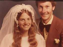 Ruby Wedding Anniversary Thank you for being our family's source of strength, hope and love.  Love A...