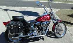 HARLEY DAVIDSON 1995 FX STC, 1340 cc, 5000 kms since full restoration, with the best of everythin...