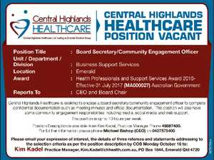 Board Secretary/Community Engagement Officer