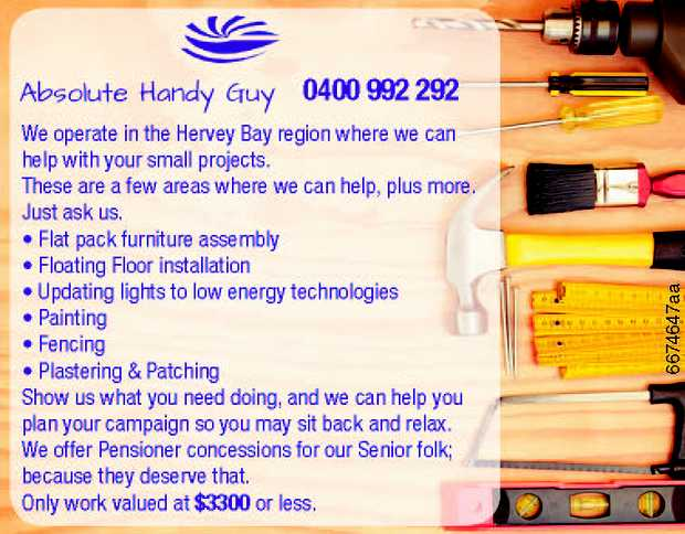 We operate in the Hervey Bay region where we can