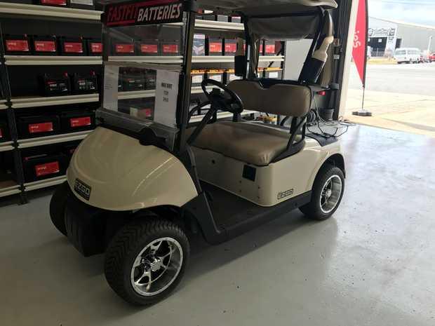 EZGO GOLF KART     New Trojan batteries with full warranty  New steering rack, new so...