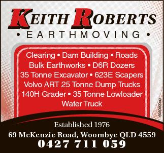 Clearing Dam Building Roads Bulk Earthworks D6R Dozers 35 Tonne Excavator 623E Scaper...